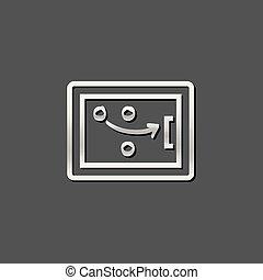 Metallic Icon - Strategy