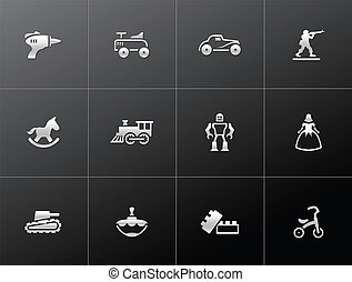 Metallic Icons - Toys