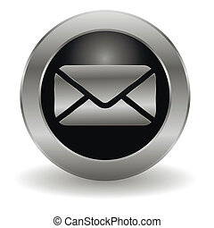 Metallic mail button