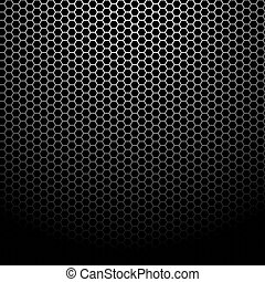 Texture of metallic mesh - Background Pattern, Vector