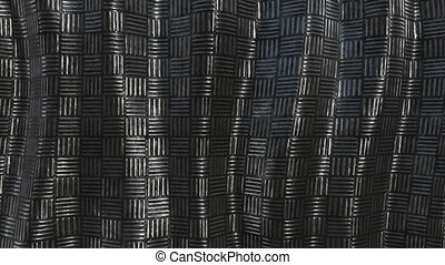 Metallic pattern abstract soft background loop