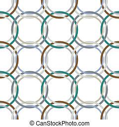 metallic rings mesh