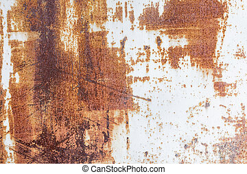 Metallic rusty texture