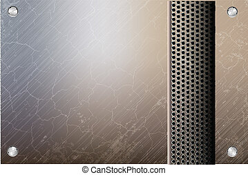 metallic steel background