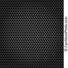 Metallic surface, gray dark background