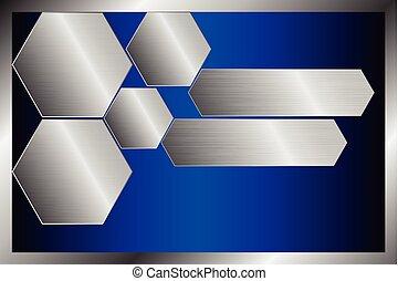 Metallic Surface template, background texture