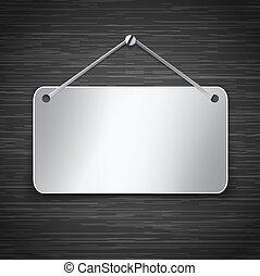 Metallic tablet