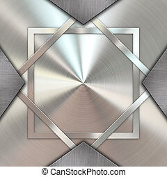 Metallic texture background