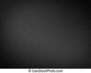 Metallic Texture - Black metallic texture. 2D graphics....