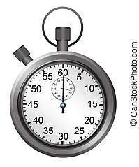 metallic timer - metallic and white timer over white...
