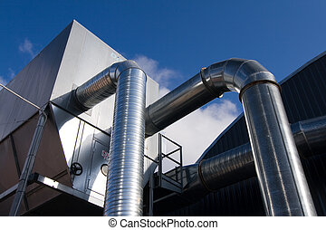 metallic ventilation ducts