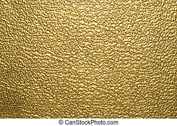 metallisk, bakgrund, guld