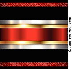 metallisk, glänsande, metall, bakgrund, struktur