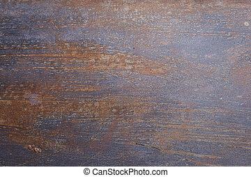 metallo, arrugginito, corroso, struttura, fondo