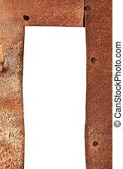 metallo arrugginito, fondo