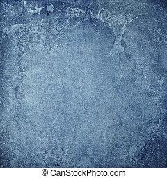 metallo arrugginito, sporco, parete, in, grunge, stile