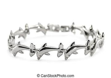 metallo, braccialetto
