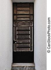metallo, cornice porta, modello