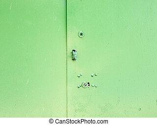 metallo, door.