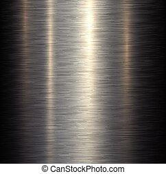 metallo, fondo, acciaio