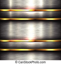 metallo lucidato, fondo