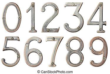 metallo, numeri