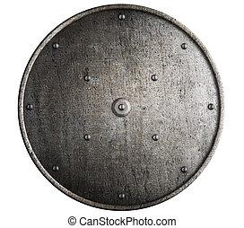 metallo, scudo, isolato