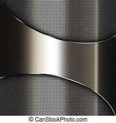 metallo, sfondo scuro