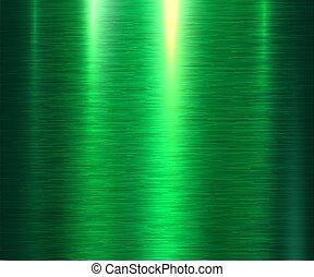 metallo, sfondo verde, struttura
