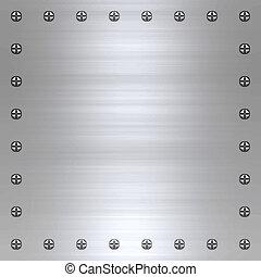 metallo spazzolato, fondo