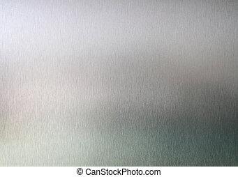 metallo spazzolato, struttura, fondo