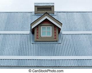 Piccolo finestra metallo tetto abbaino foglio for Abbaino tetto prezzi