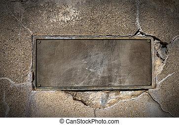 wand beton streifen metall platten streifen wand metall auf beton halten platten. Black Bedroom Furniture Sets. Home Design Ideas