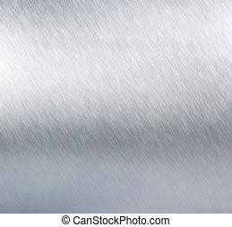 metallplatte, stahl, hintergrund., hallo, res, beschaffenheit