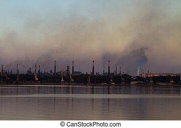 metallurgical, ambiental, ukraine., plants., zaporizhia.,...