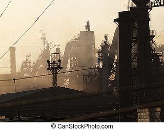 Metallurgical plant