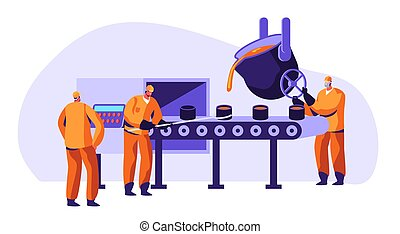 Metallurgy Industry Workers Uniform Smelting Metal -...