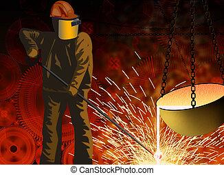 metalurgia, indústria