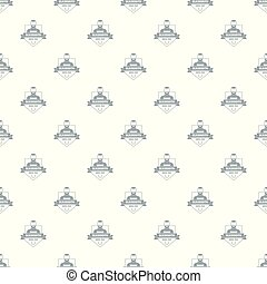 Metalwork pattern vector seamless repeat for any web design
