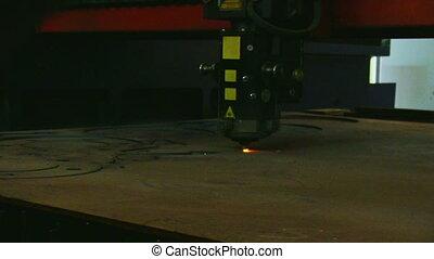 metalwork - Metal cutting with laser