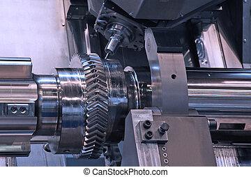 metalworking, 旋盤, industry:, cnc