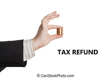 metaphor for the payment of tax refund - metaphor for the...
