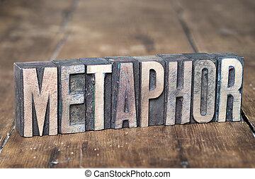 metaphor word wood
