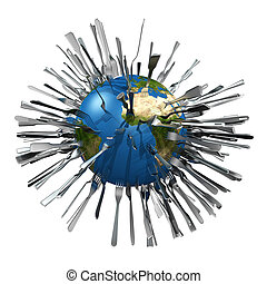 metaphorical image concerning global food ressources - ...