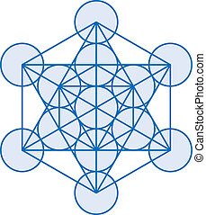 Metatron Cube - Metatrons Cube is a powerful symbol, derived...