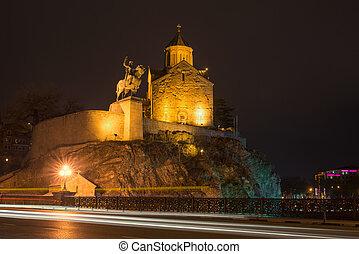 historic neighborhood of Tbilisi