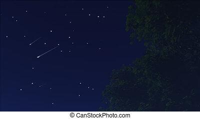 meteor shower 12 - meteor shower