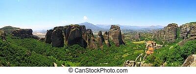 Meteora - An ancient monastery in meteora, Greece
