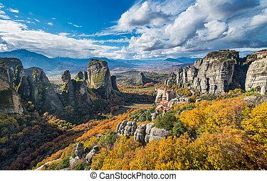 Meteora monasteries in Kalambaka, Greece - Monasteries in ...