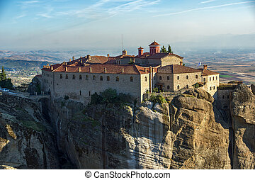 Meteora, Holy Monastery of St. Stephen, Greece